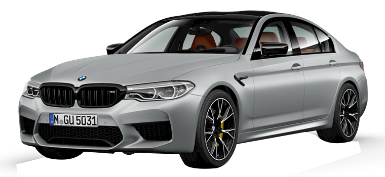 The BMW M5 Competition